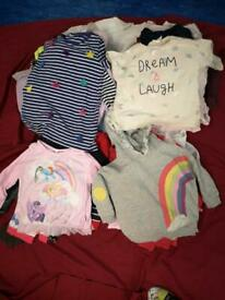 NEW - Bundle of baby girl cloths almost new
