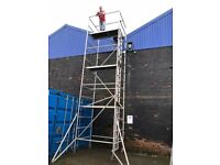 Boss massive 8.2 double width alloy scaffold tower