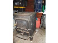 Mantrose cast iron gas fireplace
