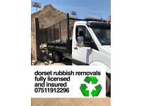 Dorset Rubbish removals cheapest around guaranteed!!!