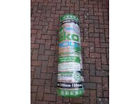 Knauf Eko Roll loft insulation 7.28m x 1140mm x 100mm BRAND NEW