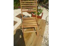 New Acacia Garden Chairs