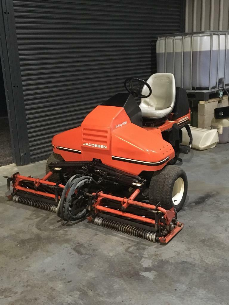 Ransomes Jacobsen Triking Cylinder Triple Lawnmower Ride on Tractor