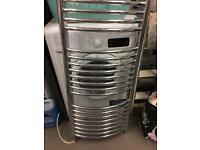 Chrome Electric towel radiator