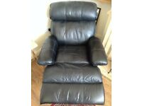 Reclining Leatherette LazyBoy style Armchair