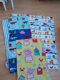 Toddler duvet with 3 covers included