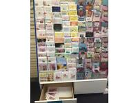 Greet card stands 4ft (15 tier 2 drawer)