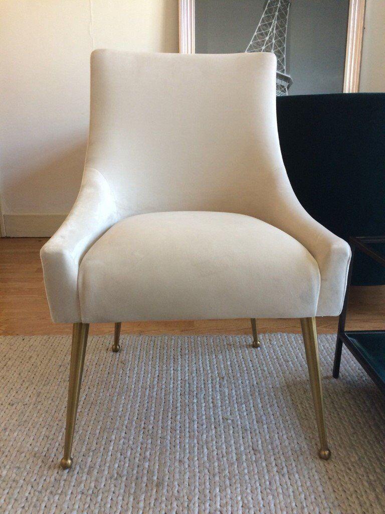 Liang Eimil Cohen Chair In Velvet Rrp 562 In Morden London