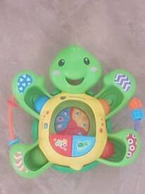 Spin pop and bop turtle