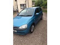 Vauxhall corsa 1.2 excellent car cheap fuel and insurance
