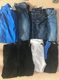 Trousers bundle 7-8yrs