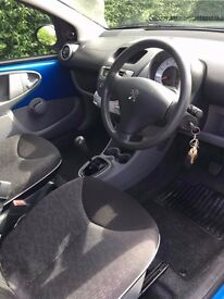 Peugeot 107 for sale, MOT and serviced on the 23 FEB 2017