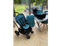 Bugaboo Cameleon 3 + Carrycot + Seat Liner