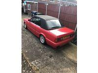 1992 BMW 325i E30 Tech 2 Convertible Facelift *Cabby*Tech 1* M3*