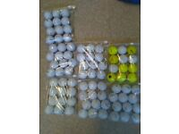 golf balls £6 per dozen prov1 srixon soft etc box of 600 all decent makes £60 no offers pick up only