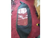 Mazda MX5 rear PVC screen