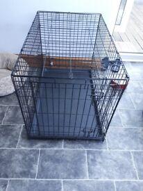 Single door dog cage £25