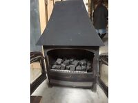 Villager Gas Stove (Gas Fire with Back Boiler)