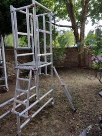 PODIUM Step 1.5M Scaffold tower ladder