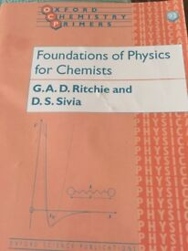 Foundations of Physics for Chemists - Oxford Primer