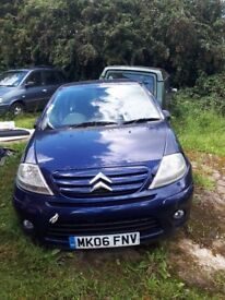 Citroen c3 for sale for fixing or breaking