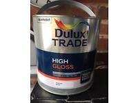 Dulux high gloss 2.5 litres medium base