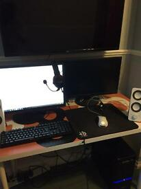 Entire gaming pc setup