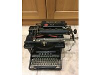 Vintage Antique Rare 1920s 30s Remington Typewriter Collectible
