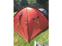 TENT Orange and gray colours 4 man