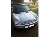 Nice clean 1.6 Mini Cooper 2001. Fully serviced