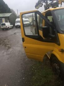 Left and right hand ford transit van door
