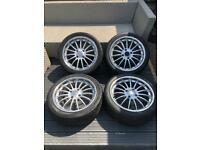 Alloy wheels 17x7.5 Honda etc