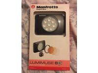 Manfrotto x2 8 led light new never been used
