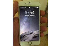 iPhone 6s 128gb Silver in Mint Condition, collection at Leamington Spa