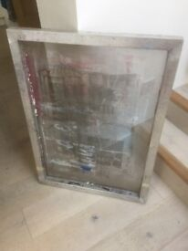 Silk Screen Frames - LARGE (approx. A1 size) x 2