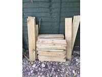 Decking wood off cuts - free collection
