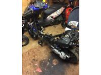 Breaking Peugeot speedfight 100cc