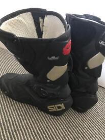 Biker boots -men's size 10