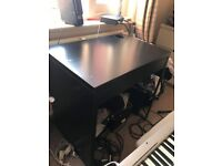Ikea Desk MICKE Black/Brown 73x50 cm £20 !!