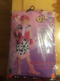 Cow girl fancy dress out fit
