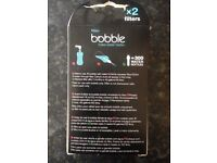 Bottle Water Filter - Bobble, NEVER USED/ORIGINAL PACKAGING RRP £10
