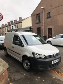 excellent condition VW caddy 1.6 , low mileage , only selling due to gettting company van