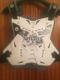 Atlas Defender motocross chest and back protector