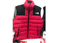 Mens North Face Body Warmers Jackets All Sizes !!!