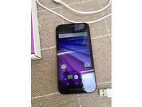 Moto G 3rd generation mobile phone.
