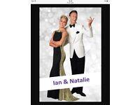 Strictly stars - Natalie Lowe and Ian Waite