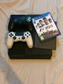 Ps4 500gb + 2 games + 2 controllers £190 ono