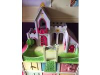 Wooden Princess stable