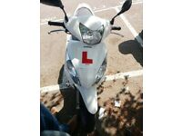 White Honda Vision NSC50, very good condition!