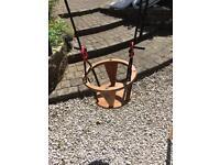Portable ikea baby/toddler swing